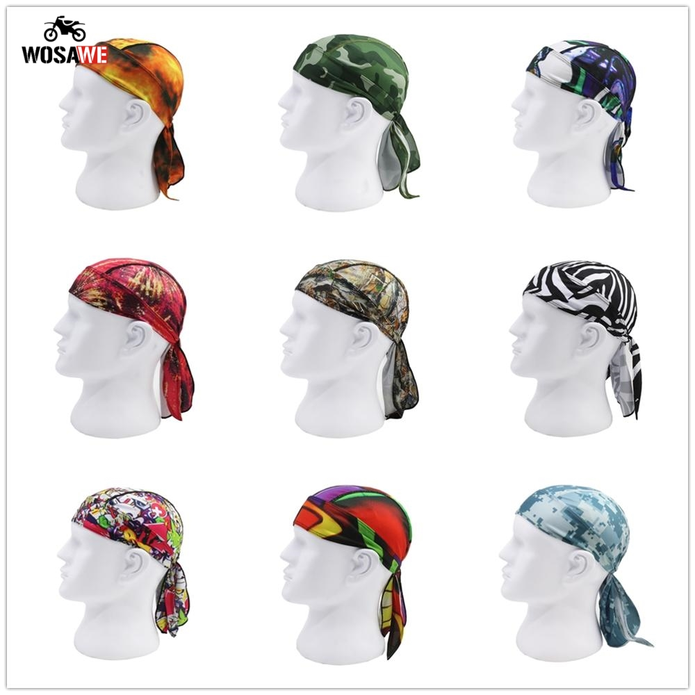 WOSAWE Motorcycle Helmet Inner Cap Balaclava Mask Quick Dry Summer Anti UV Motorbike Cap Headscarf Motocross Mask Cagoule Visage in Motorcycle Face Mask from Automobiles Motorcycles