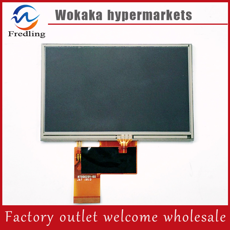 New 5 inch LCD Display + touch screen Digitizer Assembly For Explay PN-980/ PN-990 GPS Free shipping