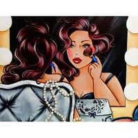 Diamant-stickerei, malerei dicke dame, diamant malerei voll platz, malen nach zahlen, diamant malerei kreuzstich