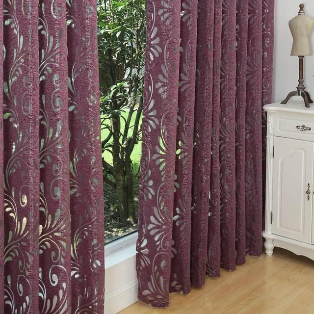 mltiples colores ready made semi apagn cortinas de panel telas para ventana cortinas moradas cortinas - Cortinas Moradas