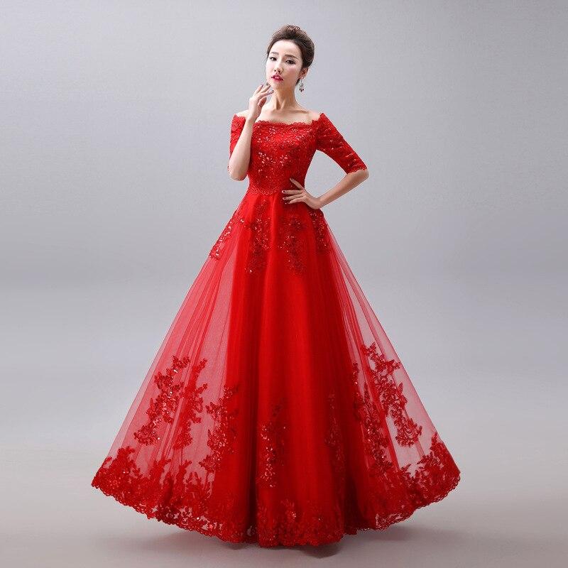 Oriental Mode Vêtements Qipao De Élégant Longue Chinois Rouge Parti Style Robe xxl Nouveau Mariage Femmes Cheongsam 2019 S 6tzX0z