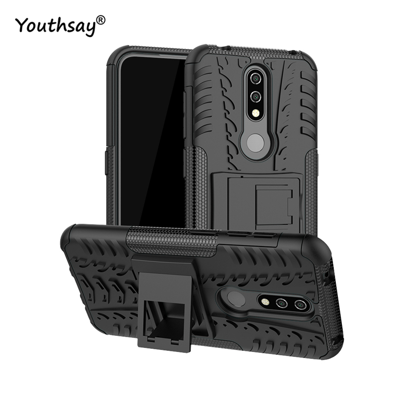 For Nokia 4.2 Case Heavy Duty Hard Rubber Silicone Coque Fundas Phone Cover for case