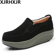 2017 Summer Shoes Women Causal Sport Fashion Walking Flats Height Increasing Breathable Swing Wedges Shoes Ladies цена 2017