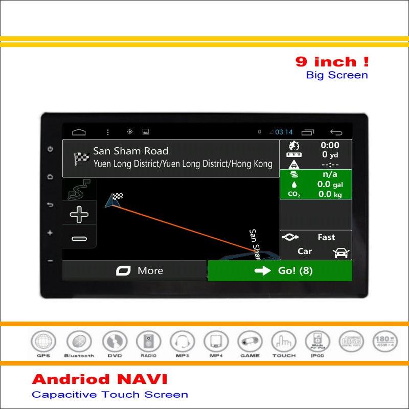 Android Sistema de Navegación GPS del coche Para Toyota Hilux AN120/AN130 2015 ~