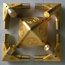 """ギザ瞑想瞑想ピラミッドキット宇宙エネルギー受信機のための適切な 3/4 """"銅管銅管なしPGT 19"""