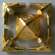 """Kit receptor de energia Cósmica Meditação Meditação Pirâmide de gizé Adequado para 3/4 """"tubos de cobre PGT 19 sem tubos de cobre"""