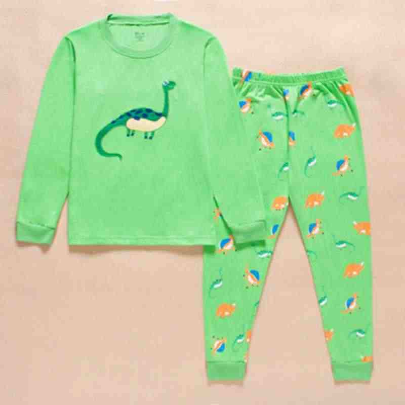243d9d462 Detail Feedback Questions about Dinosaur Boys Pijama Cotton Pajamas ...