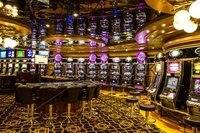 Las Vegas casino um braço-bandido foto cenário Vinil Fotografia Fundos pano Computer impresso personalizado