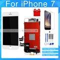 1 unids/lote prueba aaa para el iphone 7 7 plus pantalla lcd completa con digitalizador táctil de cristal asamblea libre de dhl