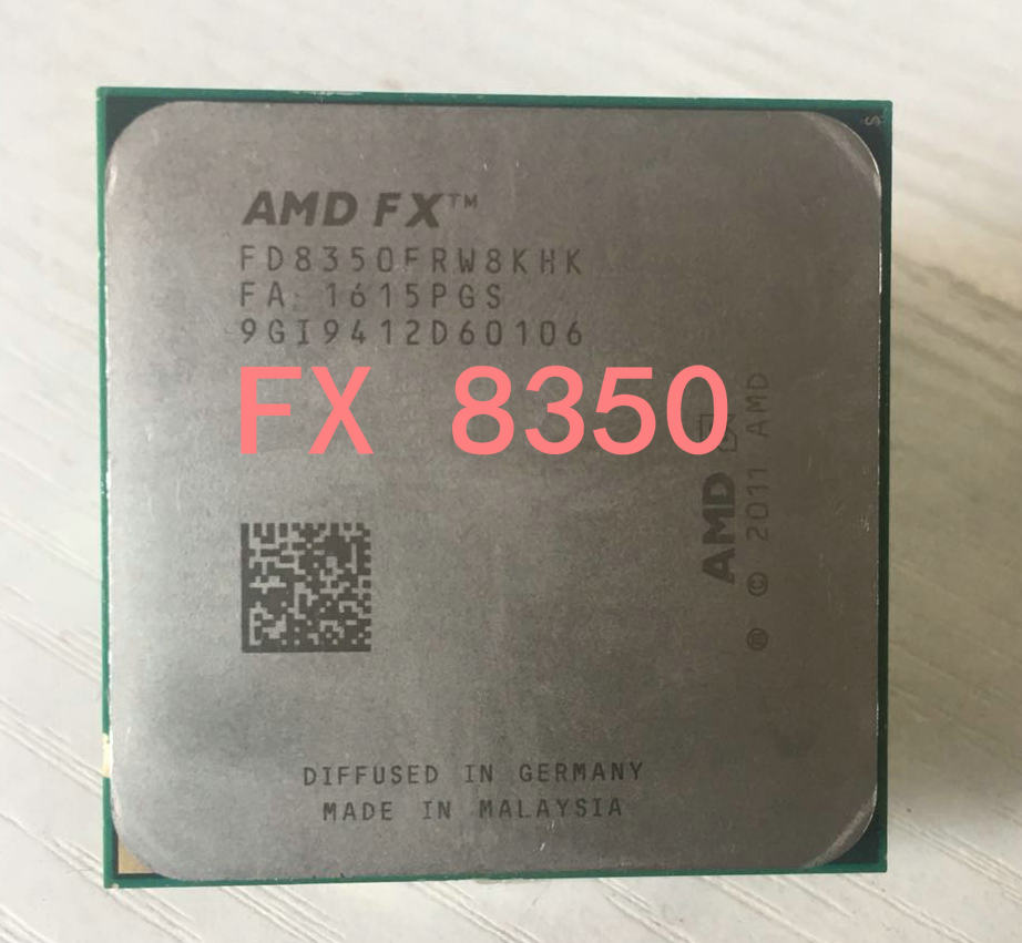 AMD FX 8350 fx 8350 125W AM3+ Eight Core 4.0GHz Desktop CPU FX 8350 can  work in stock-in CPUs from Computer & Office on Aliexpress.com | Alibaba  Group