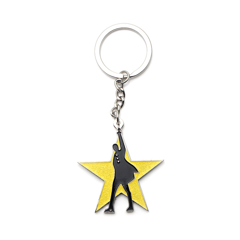 Broadway Hamilton Pendant Keychain Broadway Car Keyring For Fan Gift