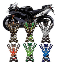 For Kawasaki Ninja ZX6R ZX9R ZX10R ZX12R Motorcycle 3D Tank Pad Protective Cover Decals Stickers