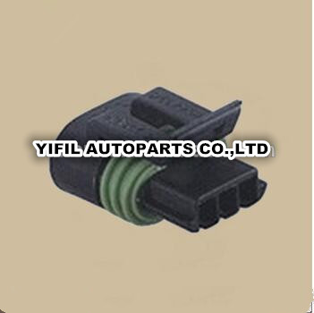 popular gm harness connectors buy cheap gm harness connectors lots 100pcs lot for delphi gm 12162182 auto wire harness 3 pin way black metri