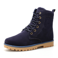 Neutral Winter Plus Velvet Snow Boots Blue 40