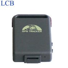 Envío gratis Original Coban GPS102B TK102B Mini 4 bandas GPS GSM GPRS rastreador TK-102 para autos Motos Vehículos
