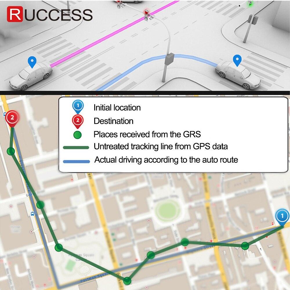Ruccess GPS AUTO DVR Dual Lens Dash Cam Full HD 1920*1080P Vorne und Hinten Auto Kamera Recorder für Auto Nachtsicht G-sensor WDR