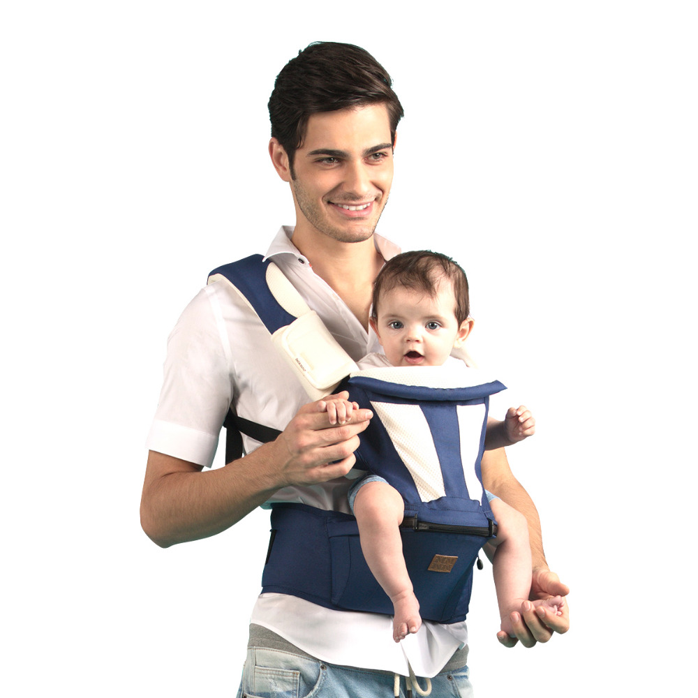 0-36 Months Ergonimic Baby Carrier Multifuntional Baby Sling 6-in-1 Hipseat Backpack for Mon Mochila Infantil Babies Manduca