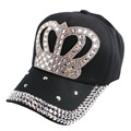 hot promotion large crown design rhinestone style children luxury summer baseball cap hip hop outdoor fashion snapbacks hats