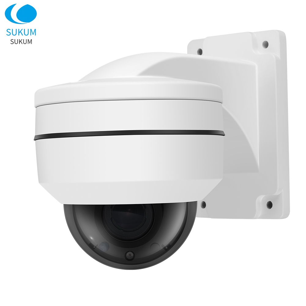 5MP Mini Security Dome PTZ Camera 2.8-12mm Motorized Lens 4x Zoom Surveillance Waterproof Outdoor POE Network CCTV Camera5MP Mini Security Dome PTZ Camera 2.8-12mm Motorized Lens 4x Zoom Surveillance Waterproof Outdoor POE Network CCTV Camera