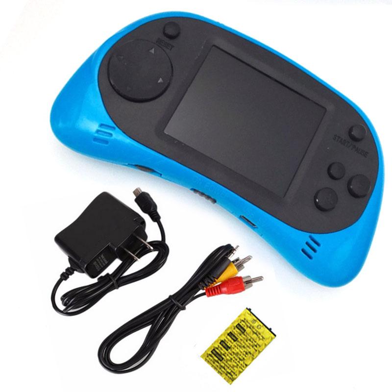 2.5 дюймов TFT Дисплей Ручные игры 8 бит игровая консоль встроенный 260 классические игры с аудио-видео кабель Поддержка ТВ Выход