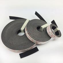 Dual Lock SJ3550 (25.4mm width) Black VHB adhesive tape Mushroom Fastener Tape, Type 250 цены