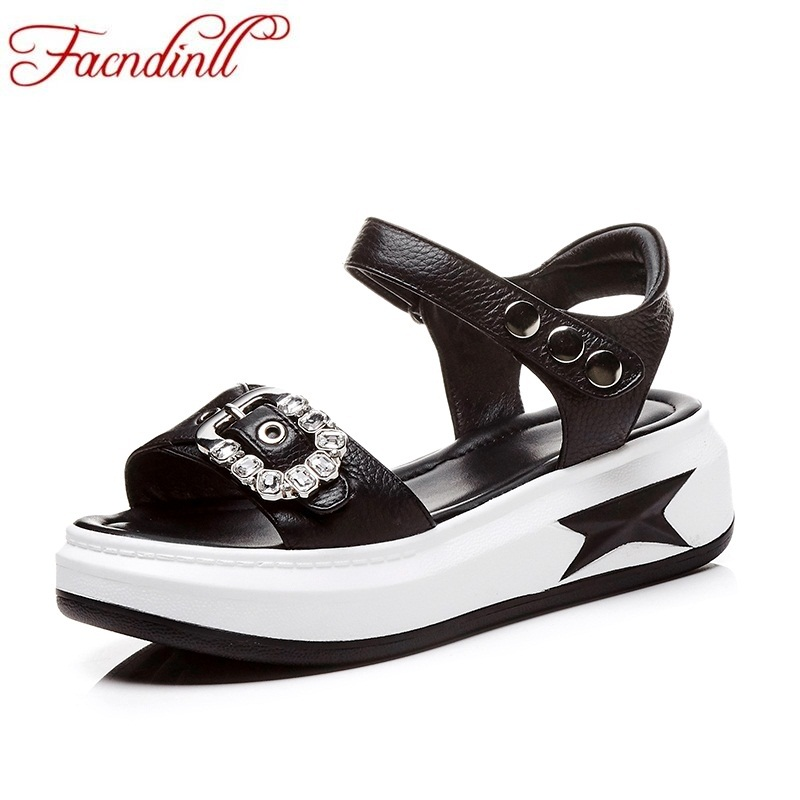 FACNDINLL shoes summer cozy round head platform sandals woman open toe shoes ladies ankle strap wedges shoes ladies casual hzxinlive elegant summer sandals women high heel wedges shoes woman round toe roman sandals ladies footwear female casual shoes