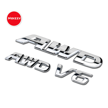 Noizzy awd HO V6 автомобиля Стикеры Авто Знак Chrome эмблема тюнинг 3D Fender Магистральные для Honda CRV Civic Crosstour Accord spirior XRV