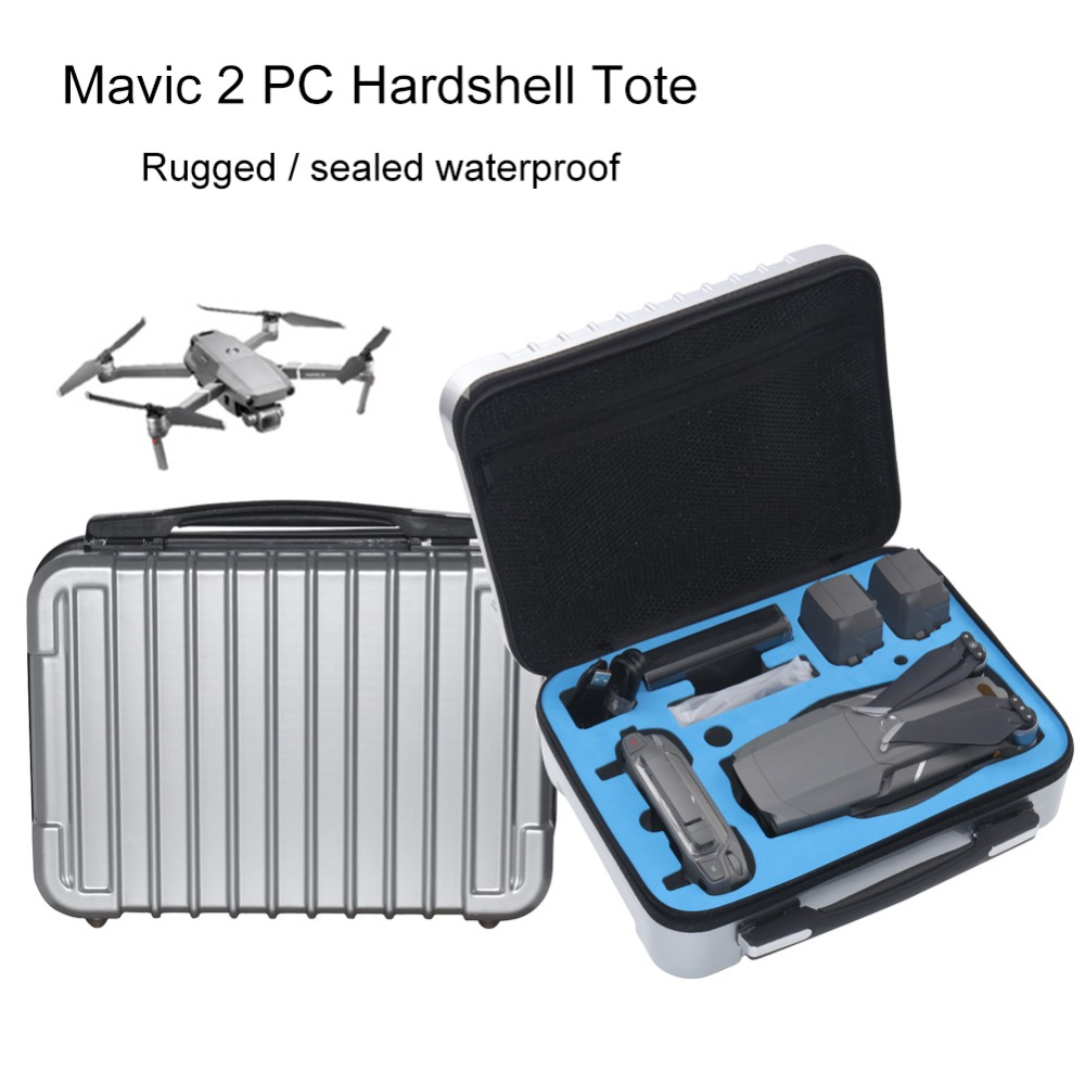 DJI Mavic 2 Generation Special Handbag Mavic 2 Pro Bag Box High Capacity Storage Hard Shell Case for DJI Mavic 2 4K Drone dji mavic pro 4k квадрокоптер бпла черный