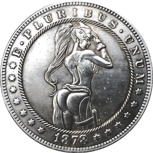 Hobo Nickel USA Morgan Dollar