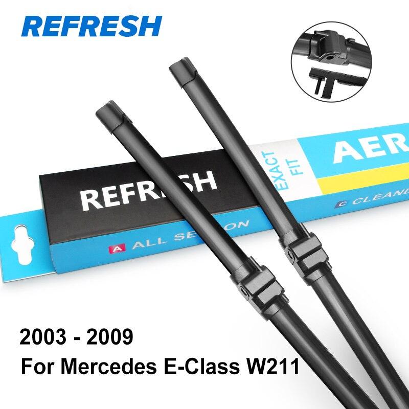 REFRESH Щетки стеклоочистителя для Mercedes Benz E Класс W211 W212 W213 E200 E250 E270 E280 E300 E320 E350 E400 E420 E450 E500 CDI 4Matic - Цвет: 2003 - 2009 ( W211 )