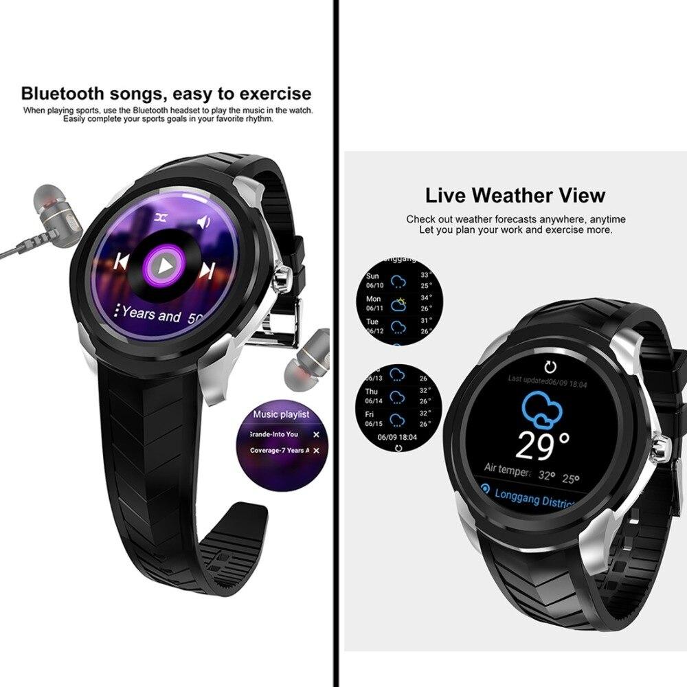 C1 Plus 3G inteligente reloj teléfono ROM 8 GB + 512 MB de RAM 1,3 pulgadas IPS HD pantalla MTK6580 Quad Core de 1,3 Ghz y cámara/G sensor de Bluetooth - 6