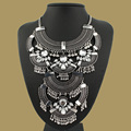 Vintage necklace bohemian fashion big statement Necklaces & Pendants collar short chain choker for women fine jewelry