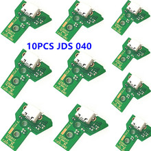 10 pcs JDS 040 030 011 001 USB Charging Port Socket Board For Sony PlayStation 4 PS4 DS4 Pro Slim Controller Charger PCB Board 5 in 1 jds 001 jds 011 12pin 14pin power charge board