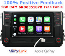 RCD330G CarPlay RCD330 Plus Auto MIB Radio Voor VW Tiguan Golf 5 6 Jetta MK5 MK6 Passat Polo Touran 6RD035187B 6RD 035 187B(China)