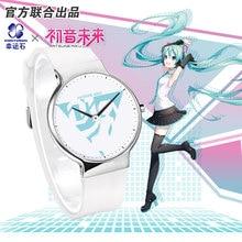 цена на Hatsune Miku Anime Watches Waterproof Action Figure Manga Role Kagamine RIN&LEN Cosplay Vocaloid