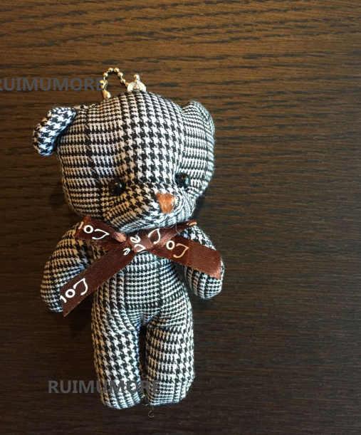 Oso De Amor regalo de boda juguete de felpa, 11CM aprox. Multi colores-oso lindo peluche oso llavero muñeca