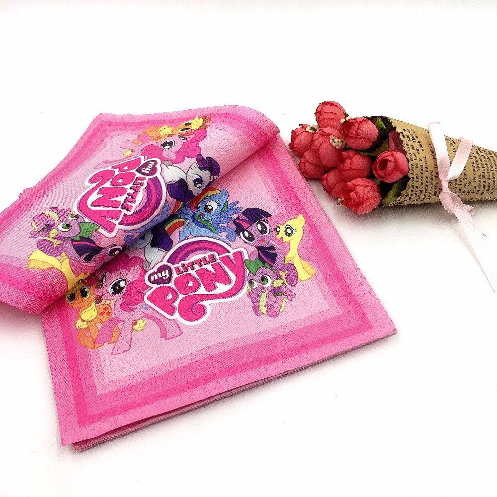 20 unids/lote my little pony cumpleaños decoración fuentes del partido de la ser
