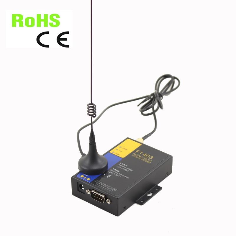 Livraison gratuite prise en charge à la commande F1403 modem industriel RS232 3G pour la fonction de données CSD SMS