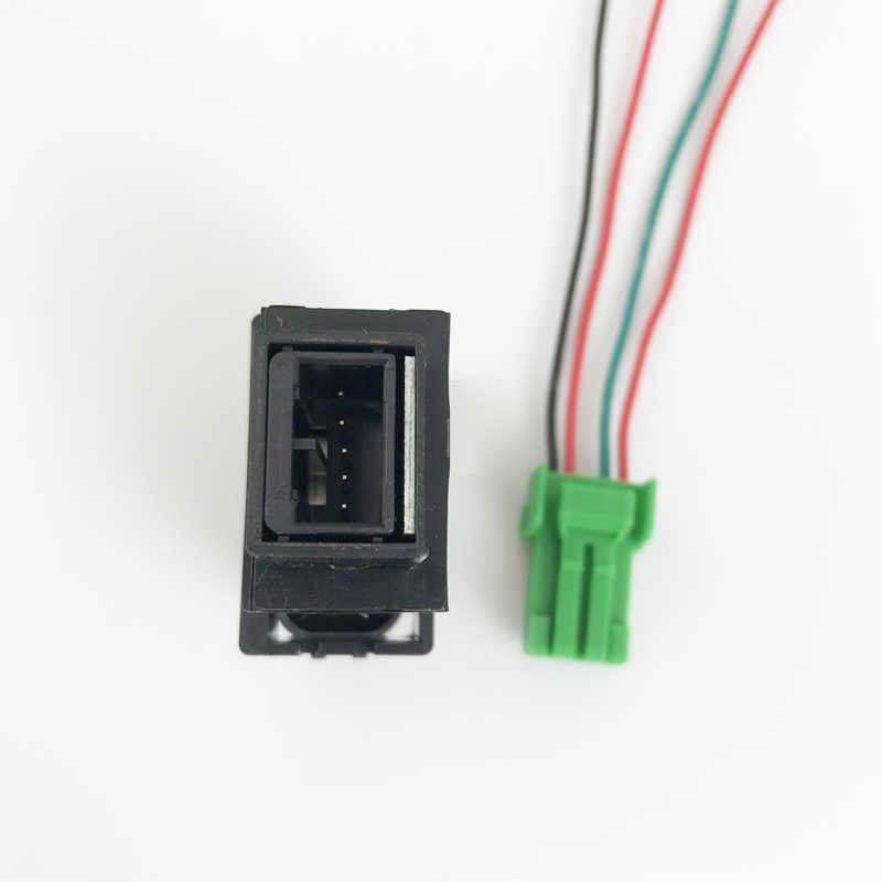 Haute qualité antibrouillard lumière LED DRL avant caméra enregistreur moniteur Radar ventilateur de stationnement bouton de commutation fil pour Mitsubishi Lancer Grandis