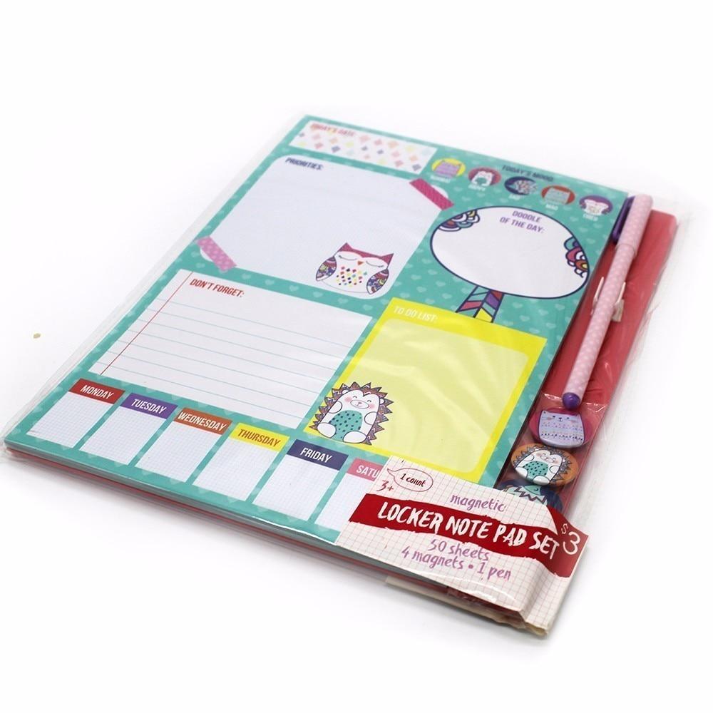 पॉकेट नोटबुक 4 चुंबक छोटी - नोटबुक और लेखन पैड
