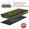 Нагревательный коврик для растений  электрическое одеяло для рассады цветов  водонепроницаемый теплый прочный гидропонный нагревательный...