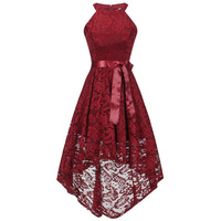 New Year Clothes Teenager Lace Elegance Wedding Bridesmaid Girl Dress For Christmas Girl Princess Party Girl clothing 13 20T