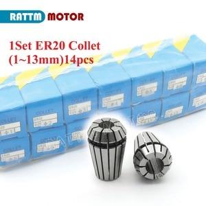 Image 5 - Carré 3KW ER20 refroidi par Air moteur de broche 4 roulements et 3kw VFD onduleur lecteur 220V pour CNC routeur gravure fraiseuse