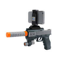 Portable Bluetooth Connection AR Games Real Shooting Experience Augmented Reality Gun Smart Phone App Large Capacity
