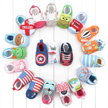 Babyshoes Baby Study Walking Shoes Baby Soft Bottom Shoes Cotton No Off Shoes Men And Women