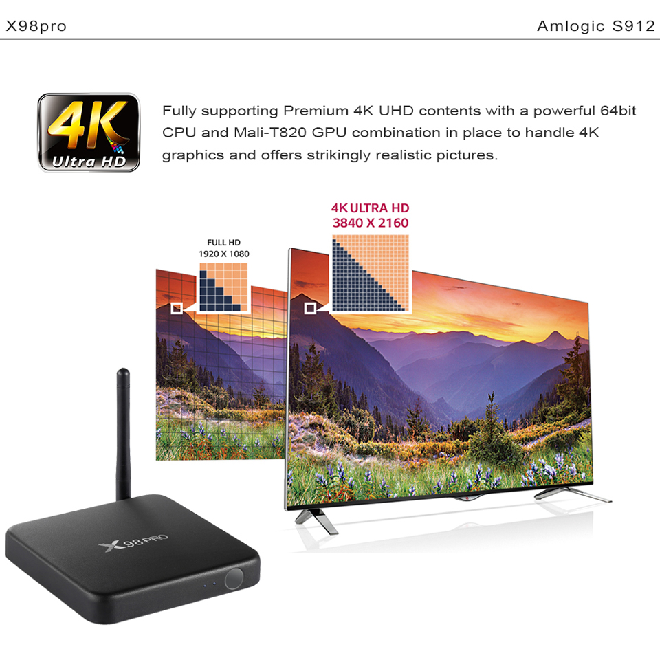X98Pro Box with 1 Year SUBTV Arabic French FULL HD 4K IPTV Subscription 3G 32G Android TV Box S912 Portuguese IPTV Subscription  (9)