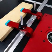 Uniwersalna płyta prowadnica ukośna bloki zaciskowe t-track bloki zsypowe M8 śruba zaciski do obróbki drewna tanie tanio Maszyny do obróbki drewna Narzędzia do obróbki drewna LCX-40 Przypadku RERAS T Clamp 125mm