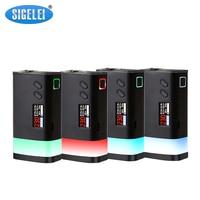 Sigelei Fuchai Glo Mod Electronic Cigarette Vape 230W Fuchai Glo Interchangeable LED Light Box Mod Compatible with 18650