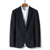 Autumn Casual fashion Suit Jacket Stylish Slim Man Luxury Clothing Suit Business high Quality Cheap Wedding black red Mens Coat
