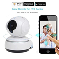 720P HD IP Camera WiFi Smart Wireless Home Security Intercom Video Surveillance Baby Camera Monitor 2-Way Audio Talk